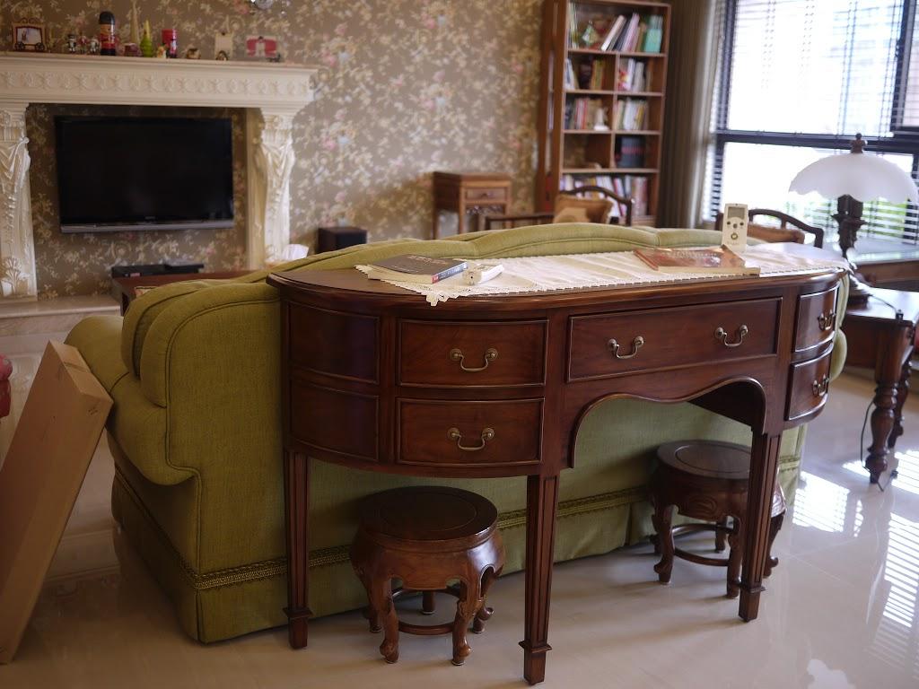 實木沙發-原木家具