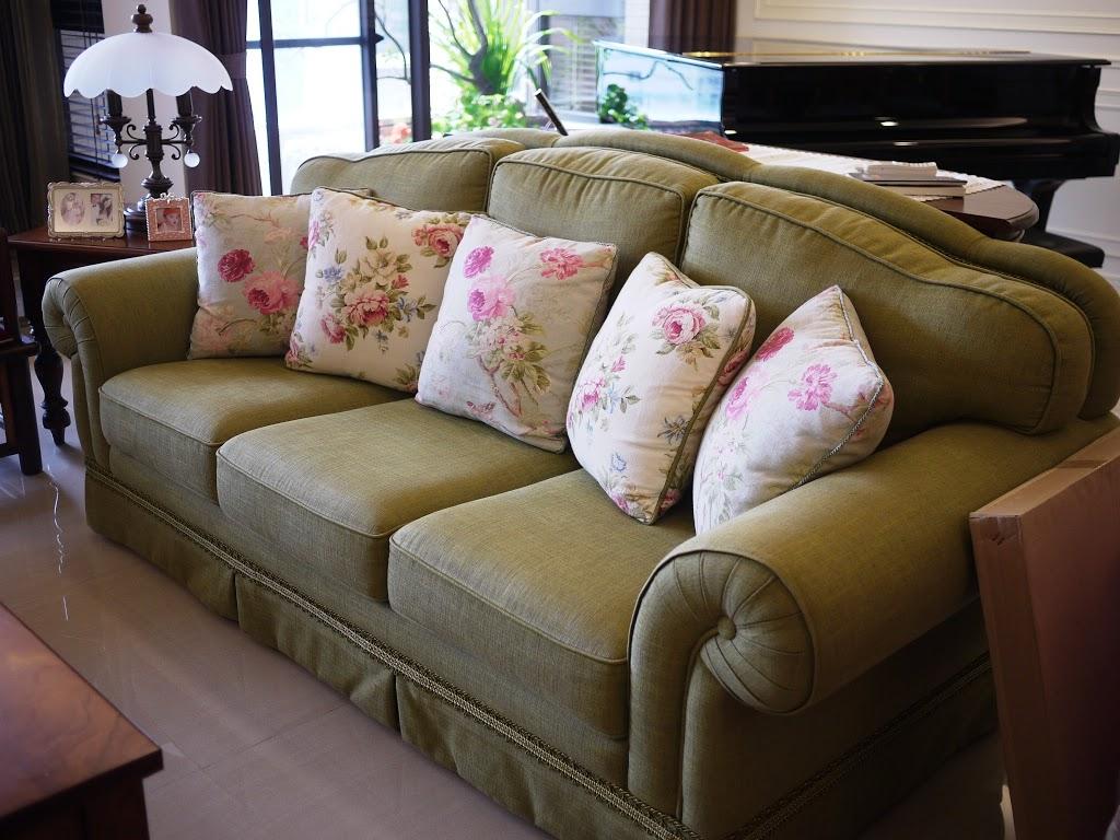 原木家具-沙發